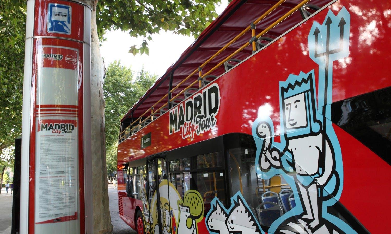 Madrid City Tour Hop-on Hop-off: un día