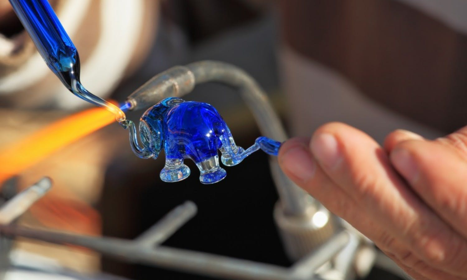Murano: Glass Factory Tour with Blowing Demo and Workshop from Venice