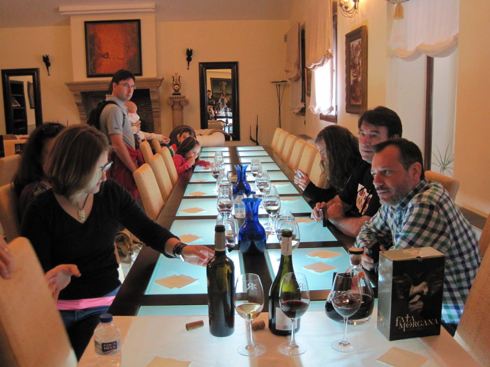 Molinos de viento de Don Quijote de vino tour de Madrid-1