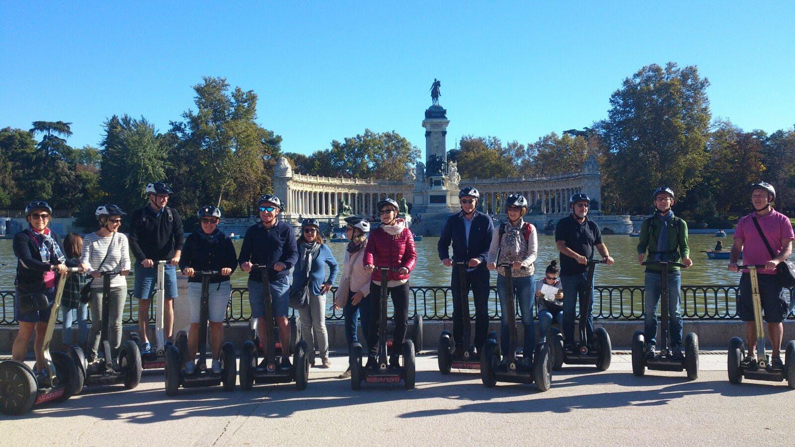 Escorial y Valle de los caído medio día Tour y Madrid segway tour-2