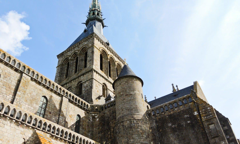 church abbey mont saint-michel in Normandy.jpg