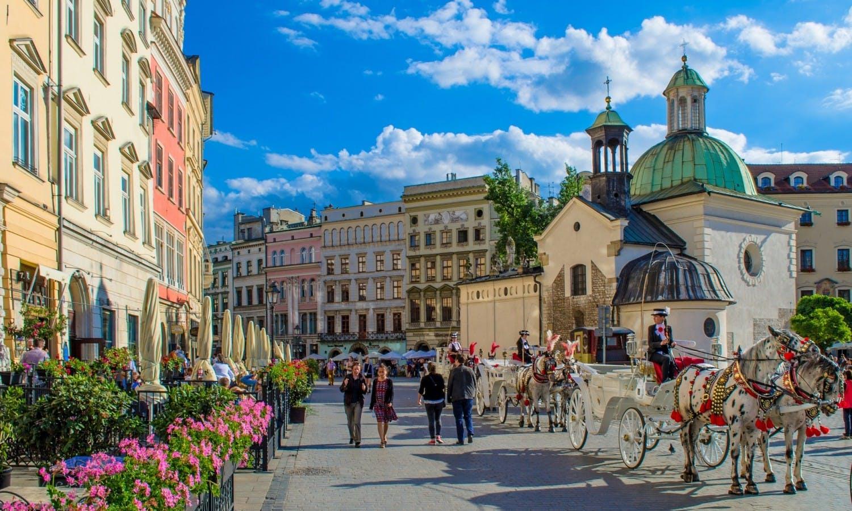 Salto de tour de la ciudad de Krakow en bajar 1 jpg