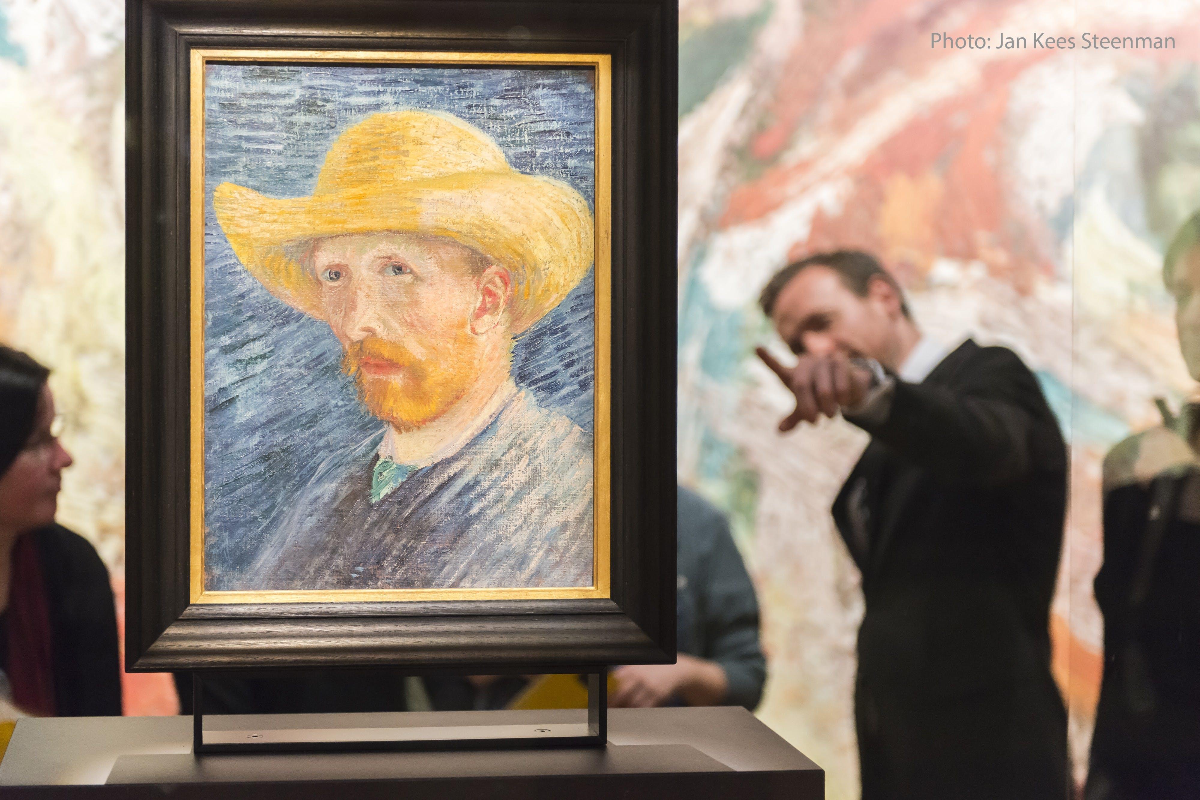 Van Gogh Credits self portrait and a visitor.jpg