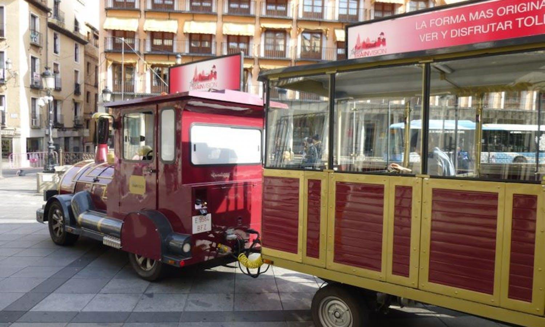 Toledo: Visita de la ciudad y el tren turístico