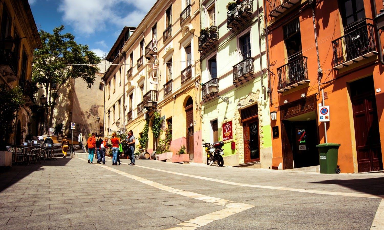 Resumen Cagliari: recorrido a pie o en combinación
