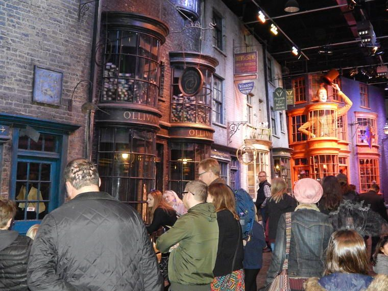 Recorrido Harry Potter en Warner Bros. Studio en Londres