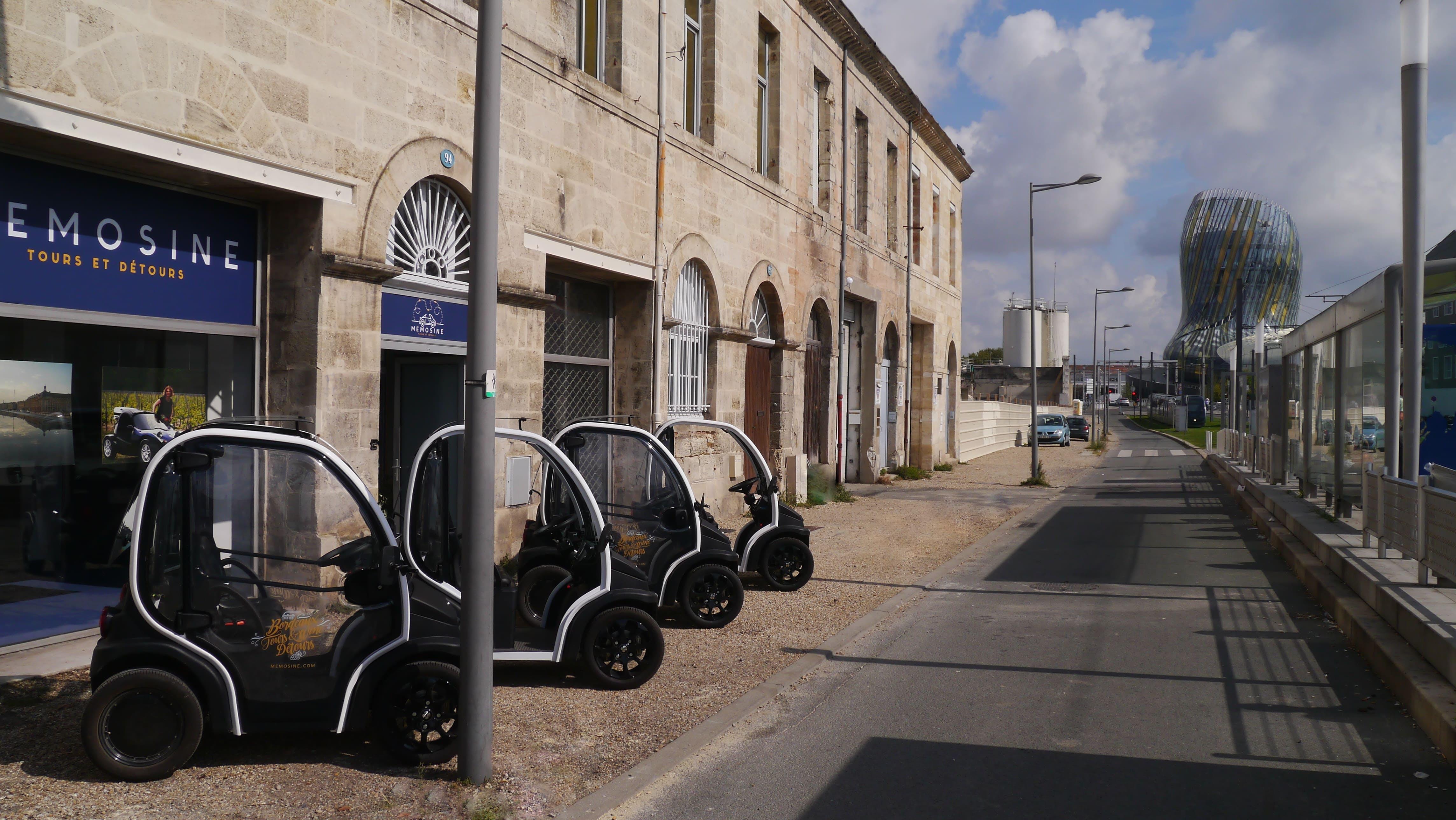Tour por la ciudad extensa guía Bordeaux en un vehículo eléctrico-4