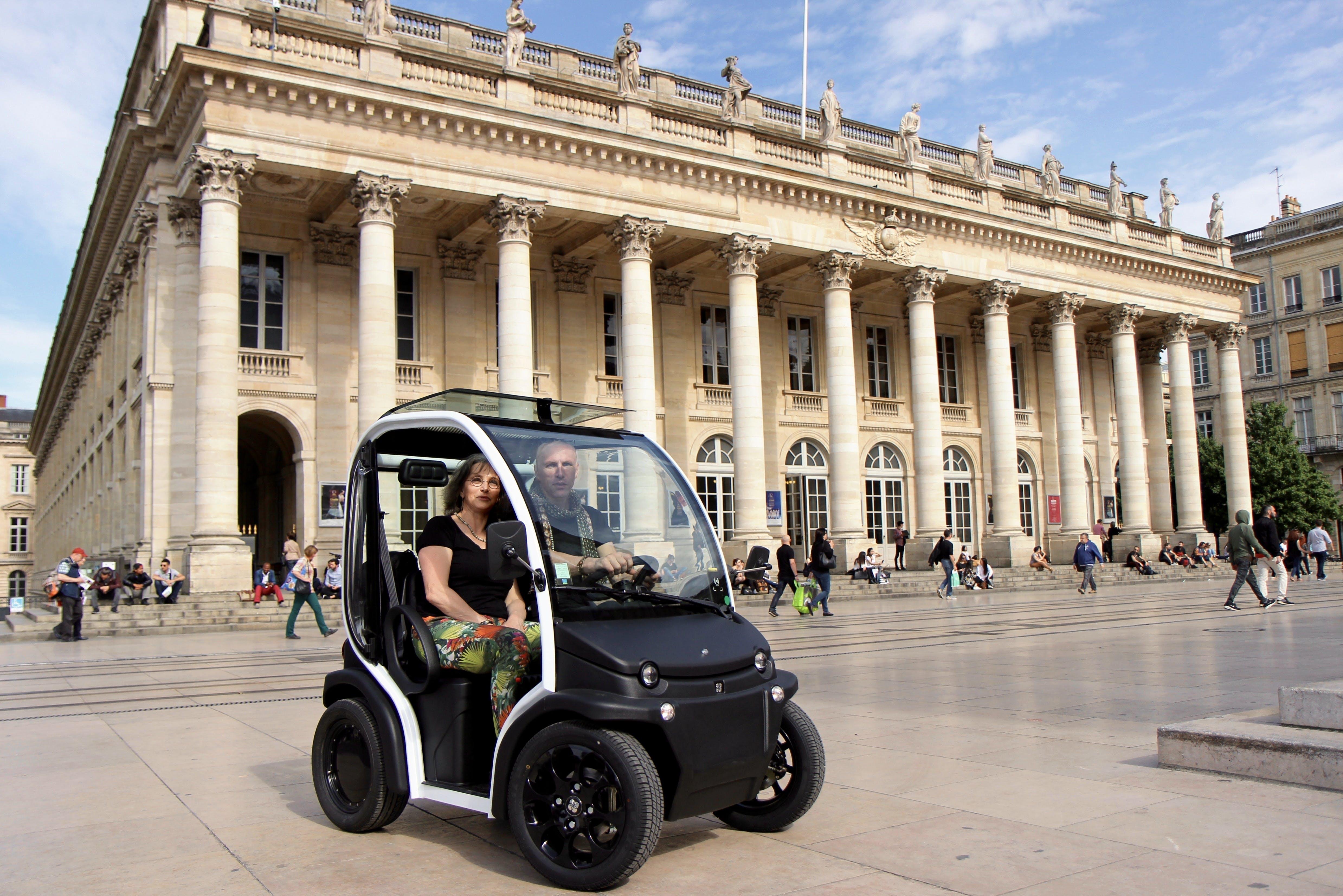 Bordeaux la UNESCO autoguiado City Sightseeing Tour en un vehículo eléctrico-0