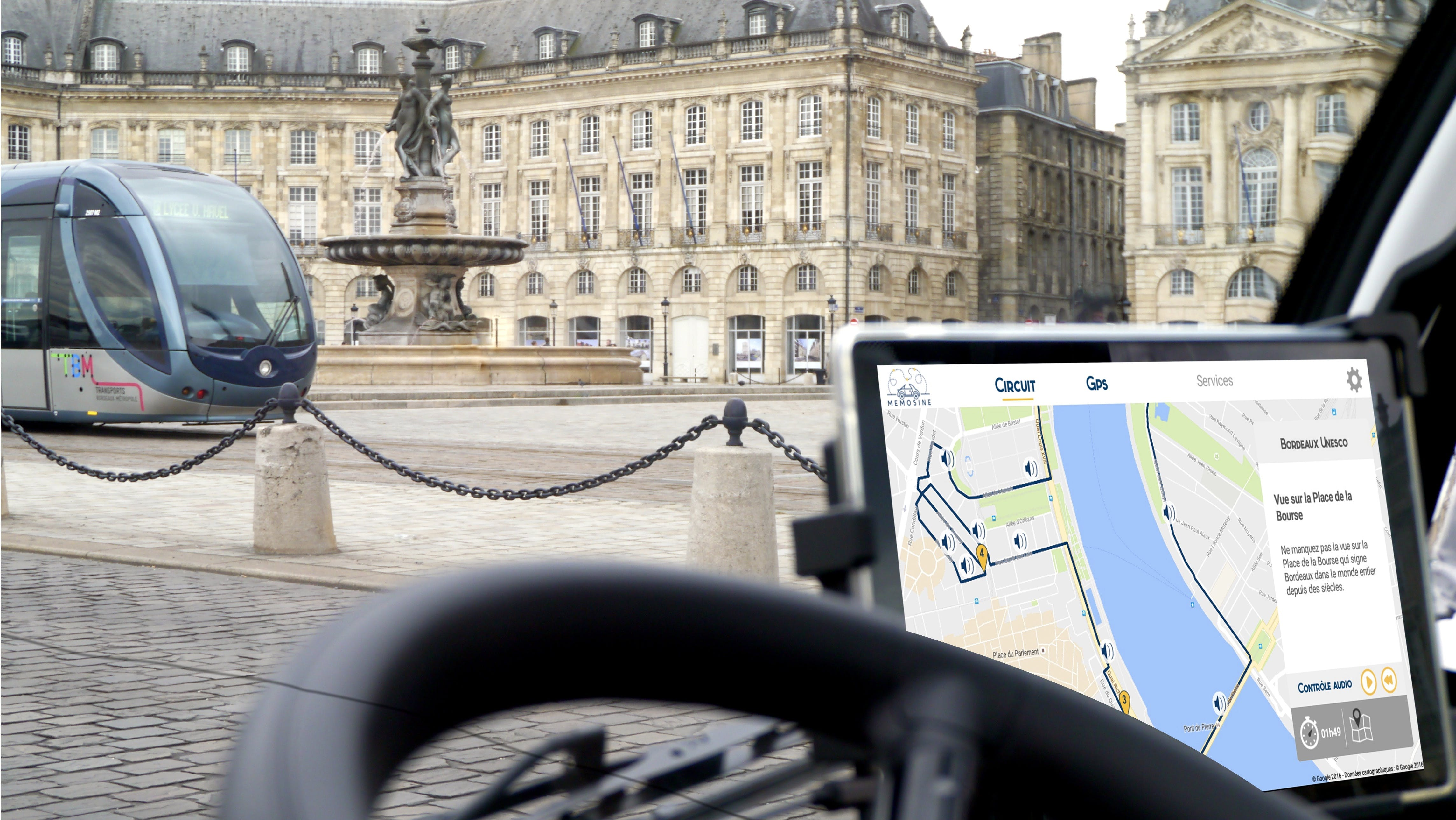 Bordeaux la UNESCO autoguiado City Sightseeing Tour en un vehículo eléctrico-1