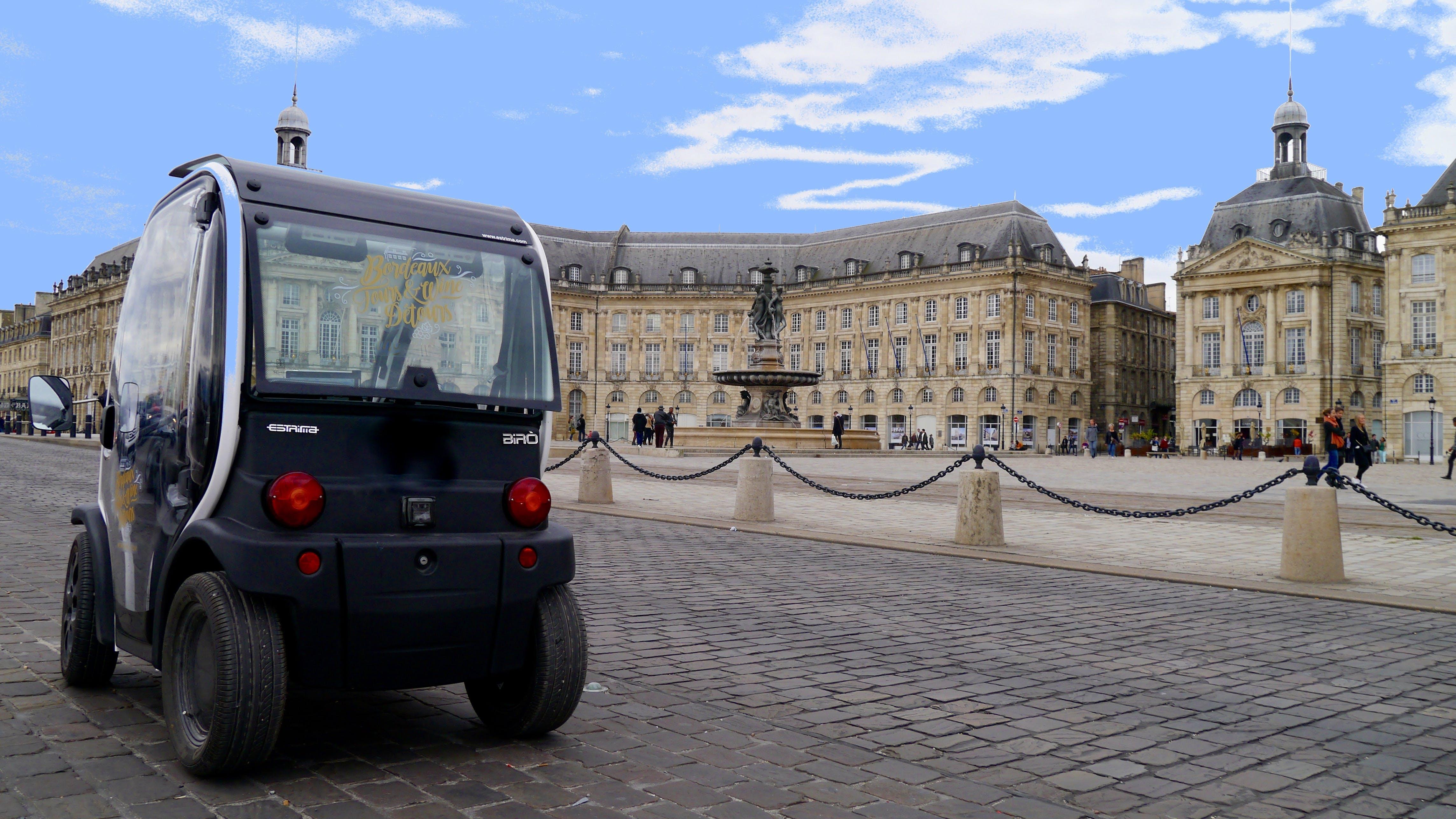 Bordeaux la UNESCO autoguiado City Sightseeing Tour en un vehículo eléctrico-2