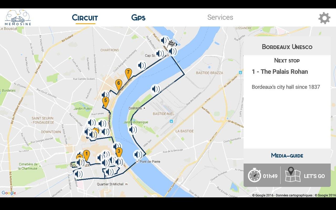 Bordeaux la UNESCO autoguiado City Sightseeing Tour en un vehículo eléctrico-3