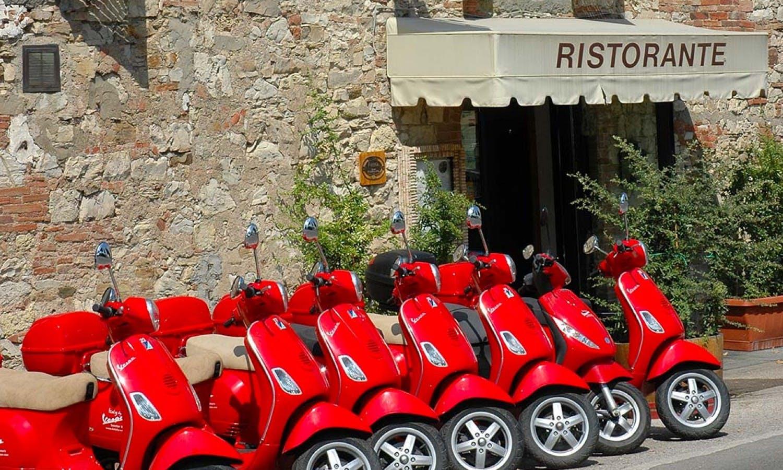 Vespa y Chianti Tour desde San Gimignano-4
