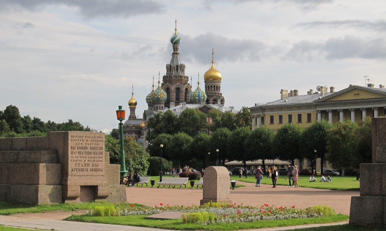 Encargo privado San Petersburgo guiado día caminando Tour-2