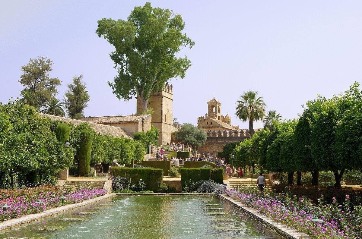 Alcázares de reyes cristianos de Córdoba 2 jpg