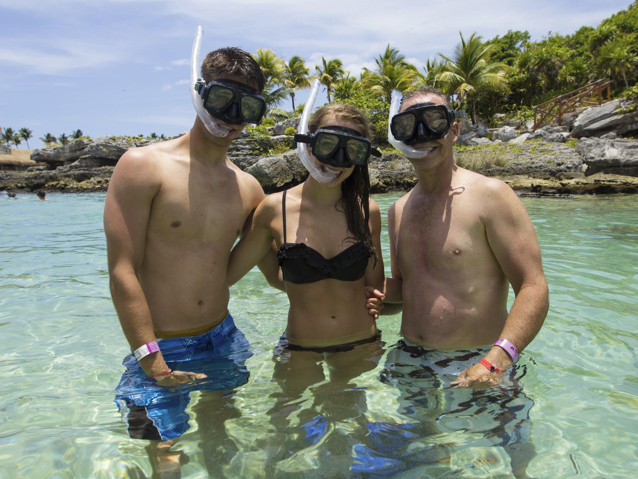 Combo 3 x 1: Tulum + Xel Ha y Dolphin Swim Tour-2