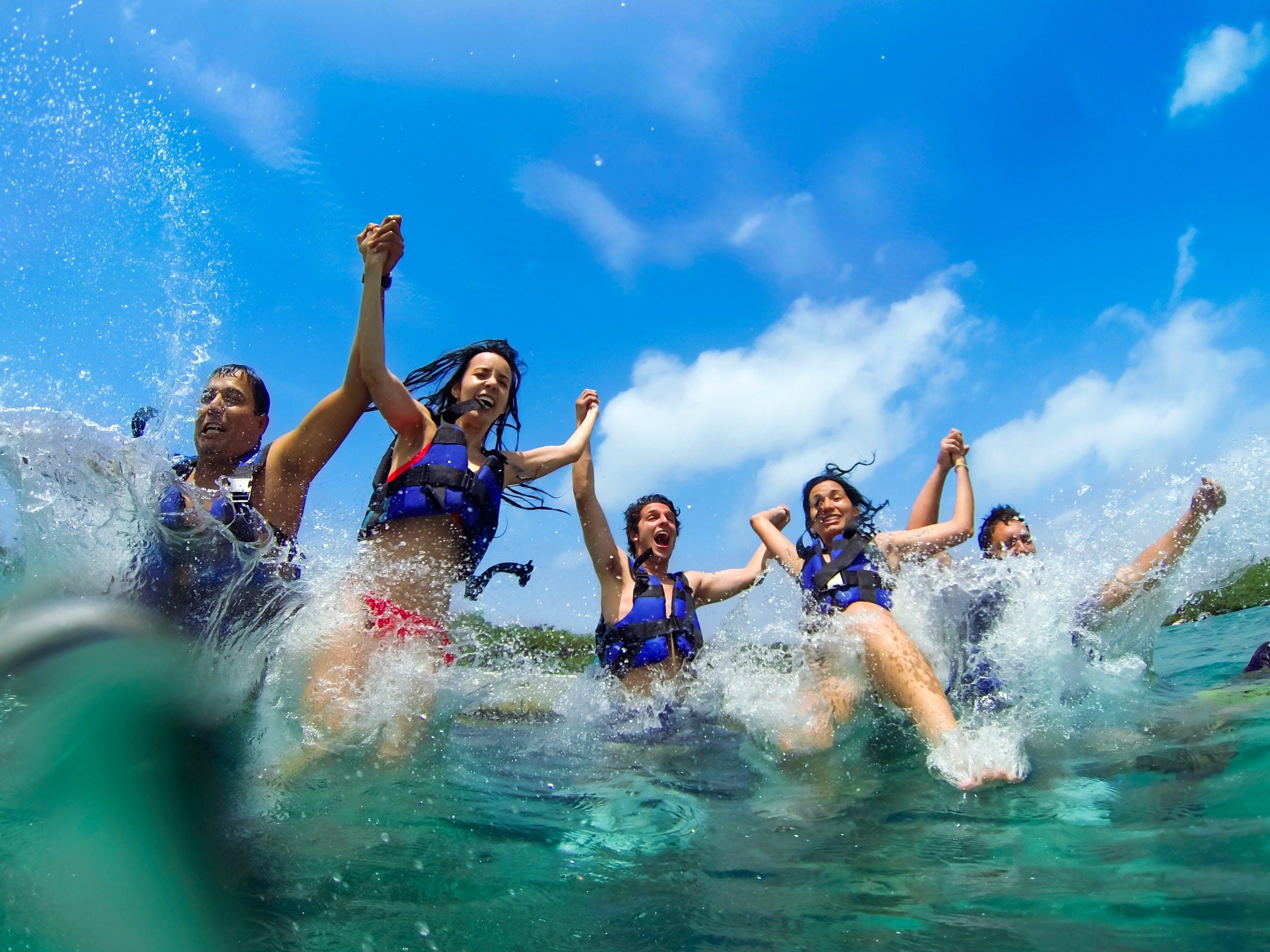 Combo 3 x 1: Tulum + Xel Ha y Dolphin Swim Tour-4