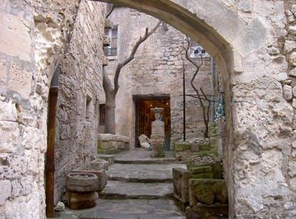 Oliva y cata de vinos en Les Baux de Provence-4