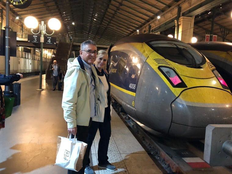 Escapada de un día a Londres desde París en Eurostar, con un crucero por el río Támesis incluido