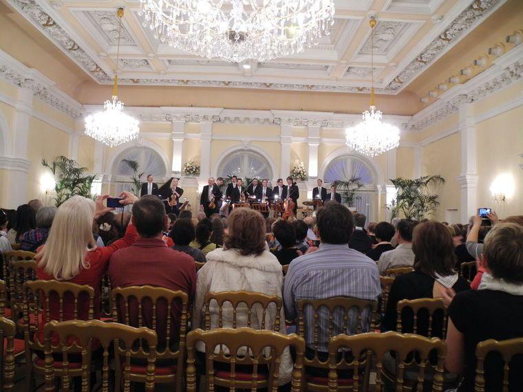 Kursalon de Viena: concierto de Johann Strauss y Mozart, con cena de 4 platos