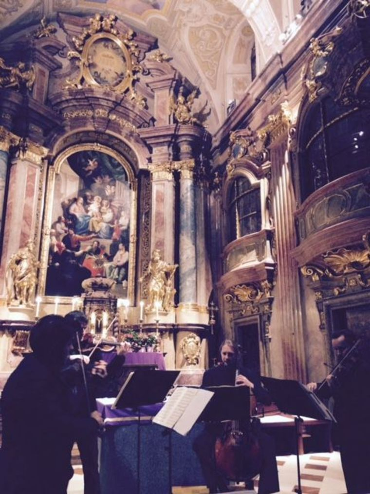 Concierto de música clásica en la iglesia Santa Ana de Viena: Mozart, Beethoven o Schubert