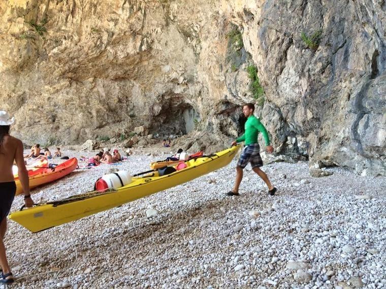 Excursión Dubrovnik, kayak en mar y buceo de superficie