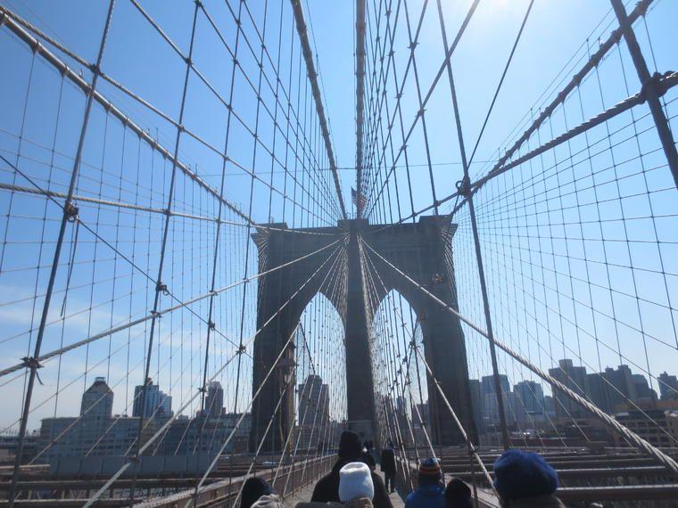 Recorrido a pie por Nueva York de Manhattan a Brooklyn: Puente de Brooklyn y Dumbo